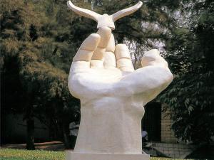 校园玻璃钢ㄨ雕塑