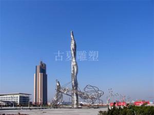 上海城市广场雕塑