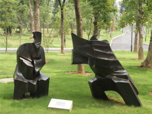 景观玻璃钢雕塑