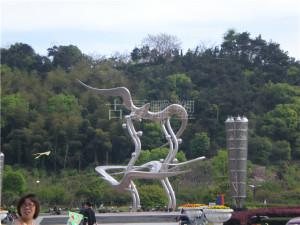 景观不锈钢雕塑