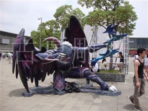上海主题乐园玻璃钢雕塑