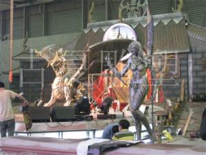 主题乐园玻璃钢雕塑