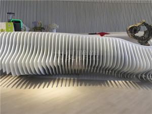 酒店大堂艺术设计装置雕他能够清晰塑