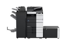 柯尼卡美能达BH308黑白复合机 黑白打印扫描一体复印机租赁