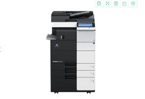 柯尼卡美能达C554彩色复合机 彩色打印复印扫描数码一体机租赁