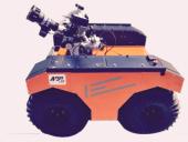 遥控灭火机器人4*4 Argo-J5