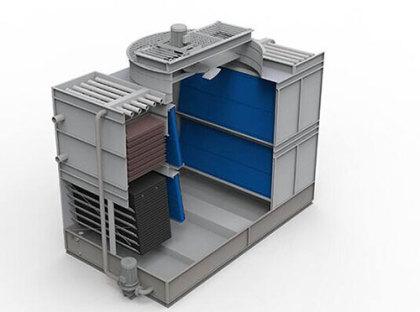 闭式冷却塔结构图