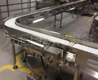 食品包裝輸送柔性鏈板流水線