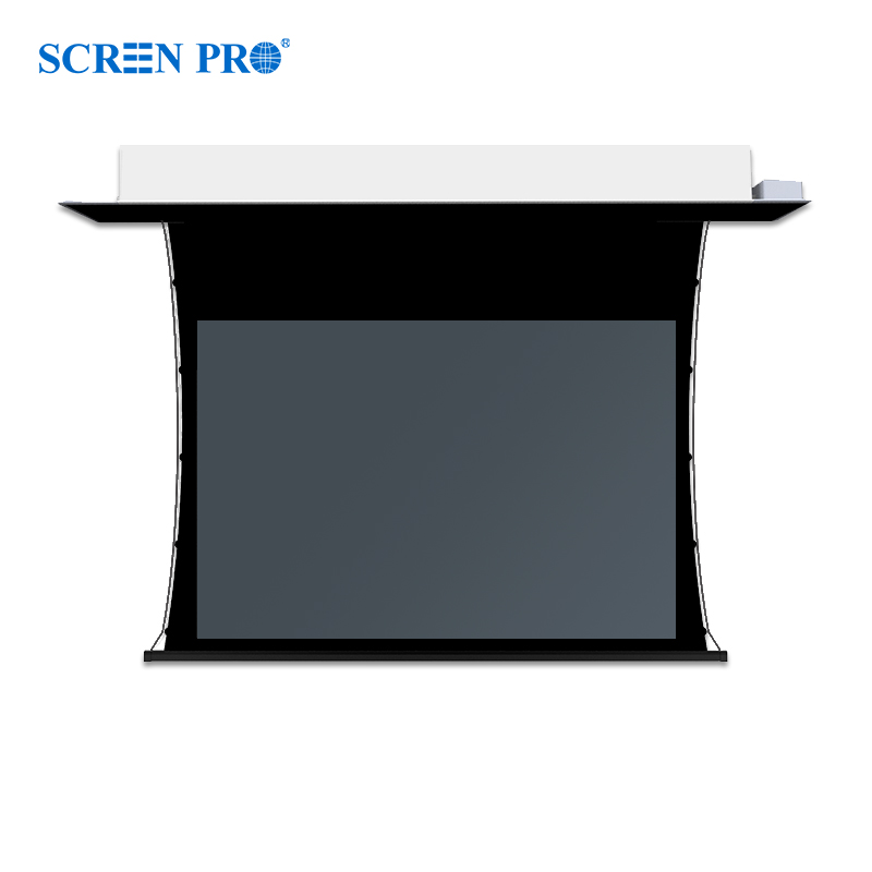 Tab Tension Screen - In ceiling