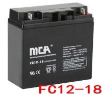 MCA蓄电池FC12-18