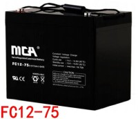 MCA蓄电池FC12-75