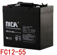MCA蓄电池FC12-55