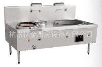 供应工厂、学校食堂厨房设备 单炒单温大锅灶 燃气炒灶 中餐灶