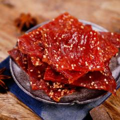 肥啾靖江猪肉脯500g 蜜汁味猪肉干特产零食小吃猪肉铺实发540g