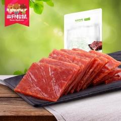 【三只松鼠_猪肉猪肉脯210g】休闲食品小吃零食靖江特产猪肉干