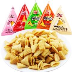 【天猫超市】三惠尖角脆500g锅巴薯片实惠礼包多口味妙脆角零食