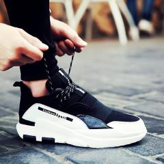 男鞋春季潮鞋2017新款韓版百搭潮流板鞋休閑運動鞋厚底增高鞋子