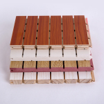 木质吸音板墙面装饰材料隔音板琴房会议室