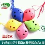 TNG6孔高音C调教学用陶笛