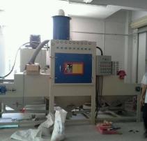 平面類輸送式自動噴砂機