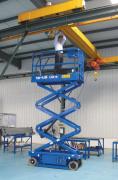 10米自行升降平台厂房装修