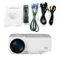 拓兴微型家用投影仪高清 LED投影机家庭影院1080p 3D智能无线WIFI无屏电视 幻影白 升级版(带安卓wifi)