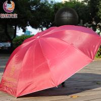 10骨高密度三折伞