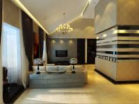 现代风格 四居室
