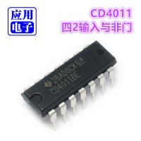 CD4011四2输入与非门CMOS数字集成电路IC双列直插DIP封装正品