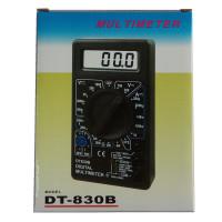 正品数字万用表DT830B电压电流电阻二三极管测量电子电工仪表