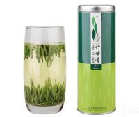 竹叶青茶叶扁平挺直似竹叶,嫩绿油润汤黄绿,品味余香优静心