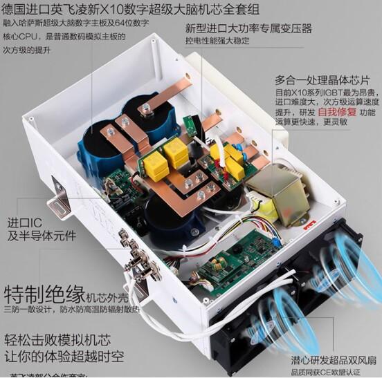 20KW商用大功率80電磁大鍋灶機芯