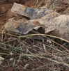 汝南警方成功爆破一枚50公斤重的航空炸弹