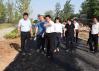 市人大常委会副主任、县委书记彭宾昌深入一线督导城建项目