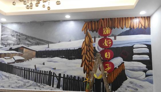南昌墙绘公司-江西玩美手绘