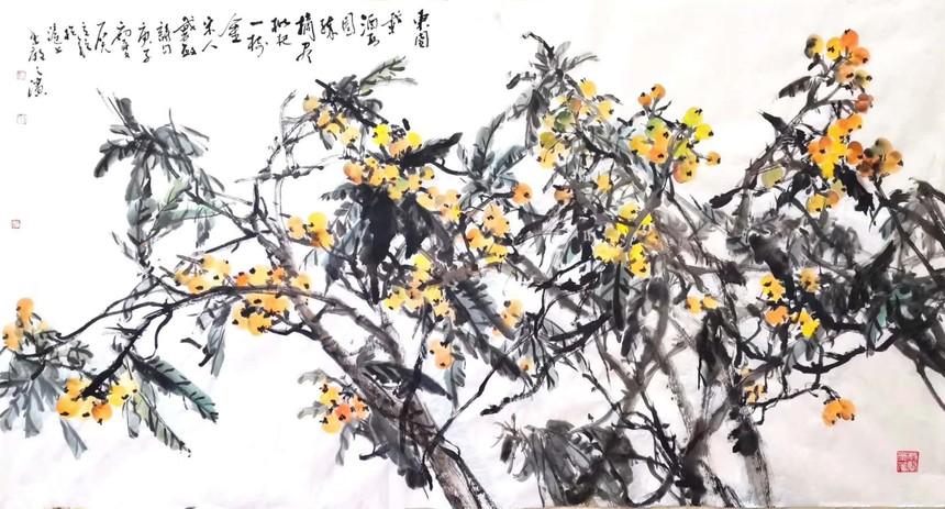 20200616《黄金压树》.jpg