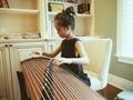 学古筝 音乐人高晓松的女儿也弹古筝,因为古筝......