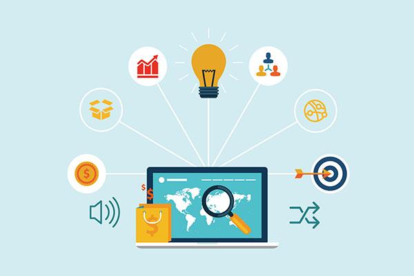 企业营销型网站建设的四大优势