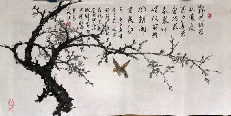 朱晴方诗画《春寒料峭何所惧》.jpg