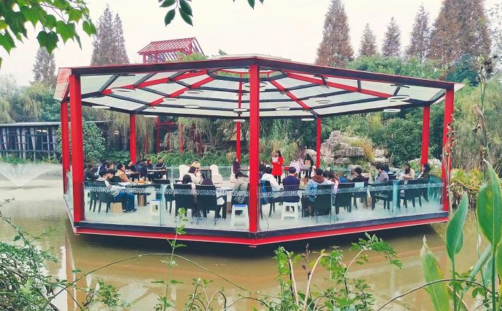 南边文化艺术馆文学工作茶话会成功举行
