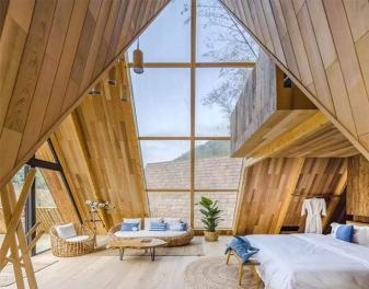 杭州茶空间家具及民宿家具装饰工程案例