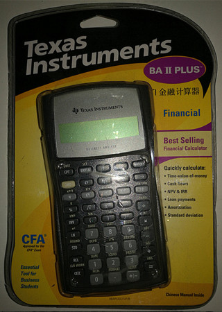 Texas Instruments BA IIB plus TI金融计算器