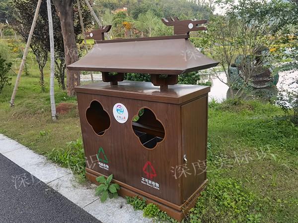 户外垃圾桶设计