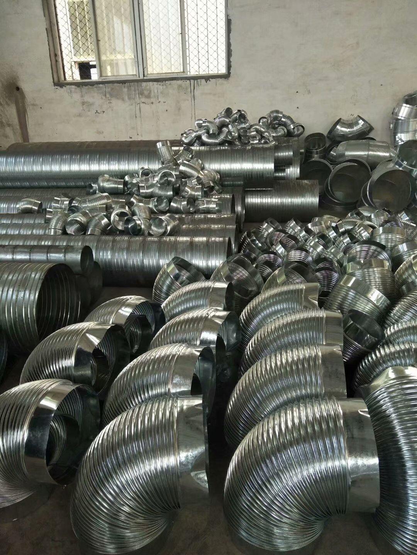 白铁镀锌螺旋管道厂