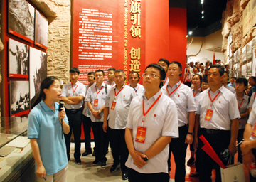 艰苦奋斗 团结协作 提质增效 创新发展——红旗渠教育实践活动