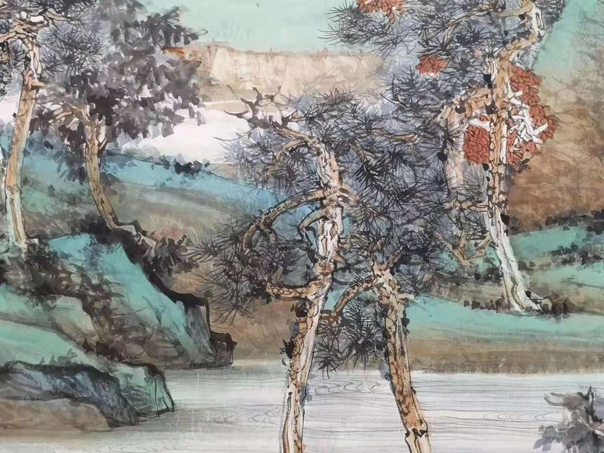 中国画《山高水长》05.jpg