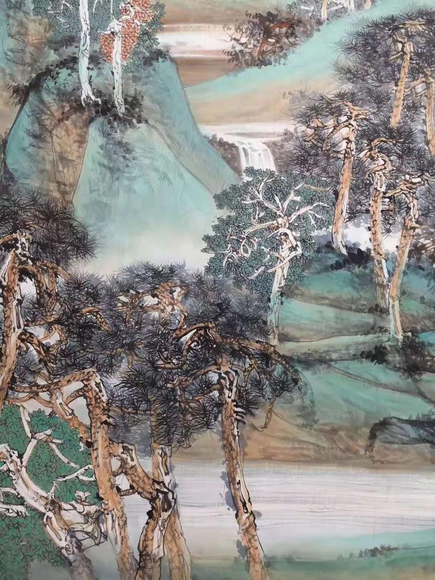 中国画《山高水长》06.jpg