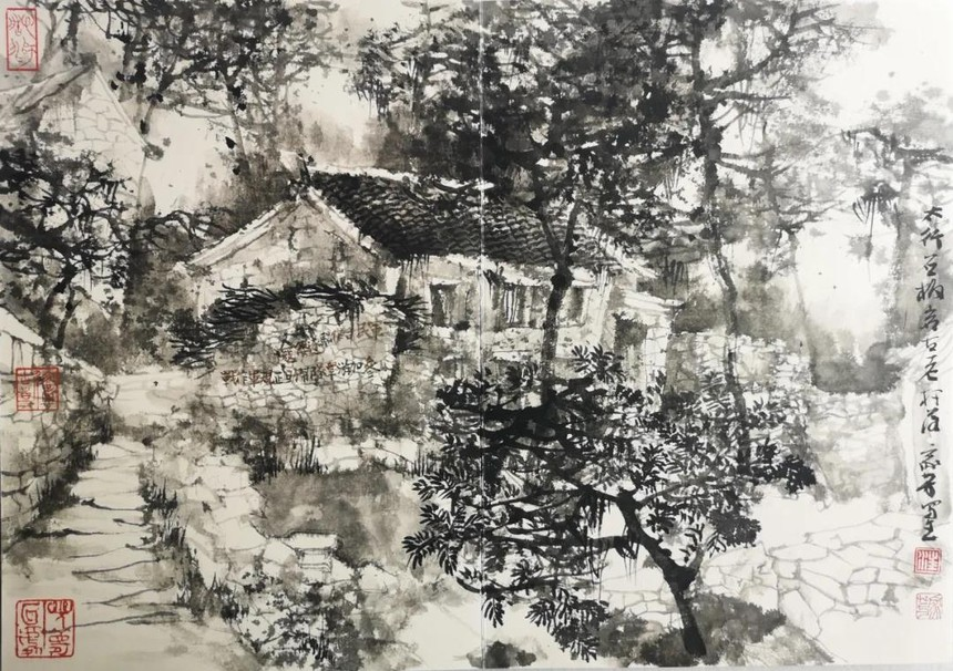 09汪家芳  《太行山八路军总部旧址》.jpg