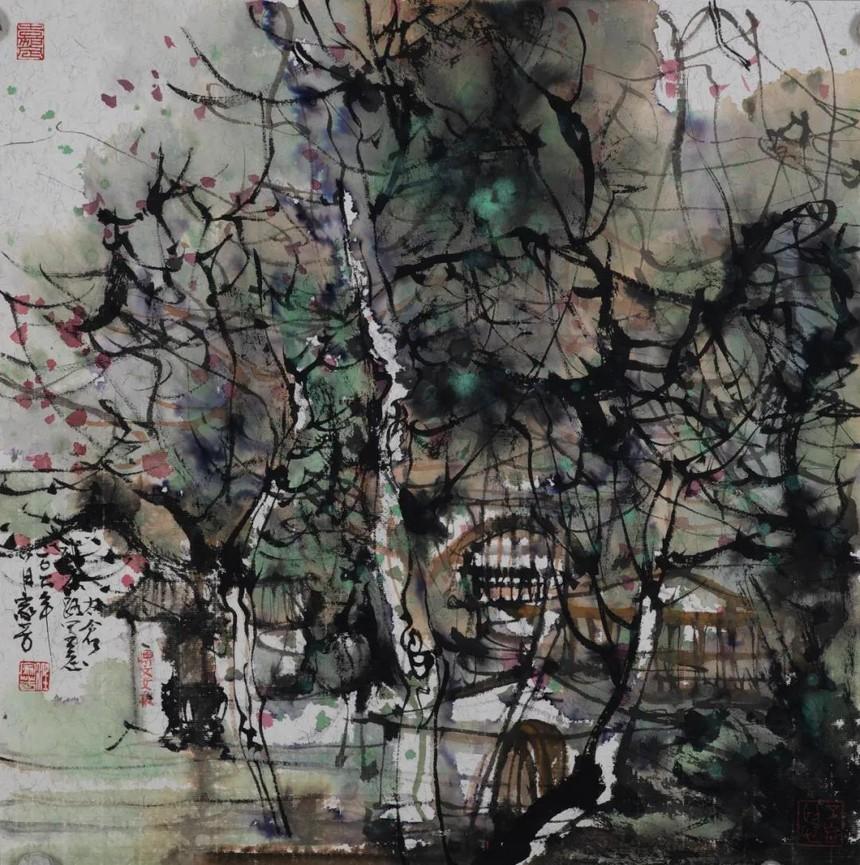 19汪家芳  《上海梧桐树下的太仓路》.jpg