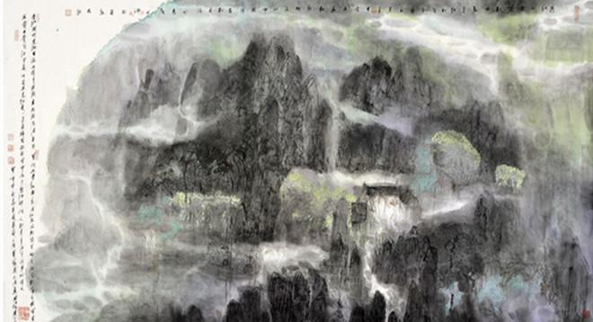 刘汉民——意象山水著名画家